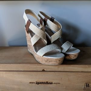 Super cute platform wedges -Steve Madden - 9.5